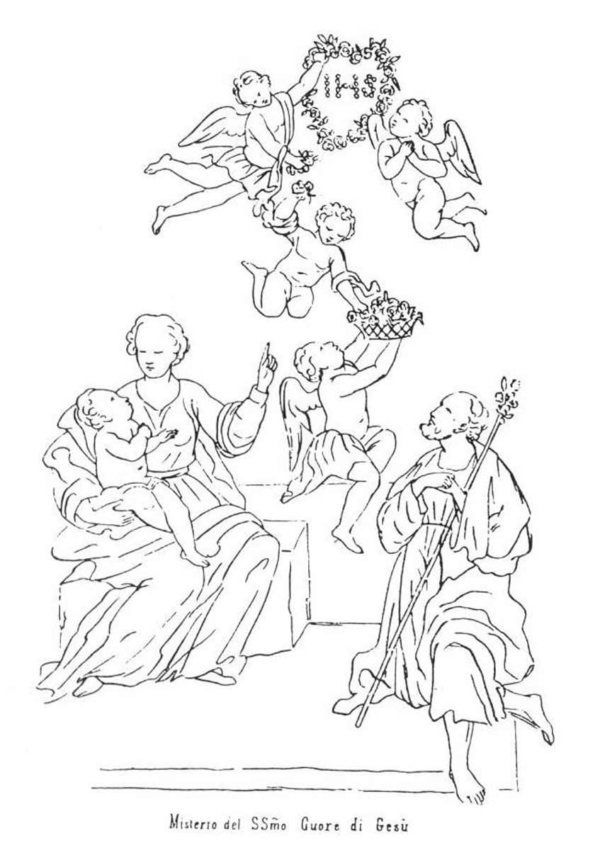 Il mistero del sacro cuore di ges campobasso for Immagini sacre da colorare